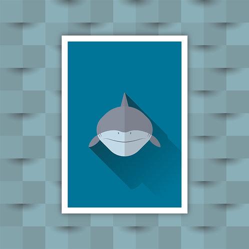 Shark - Minimal Art Print