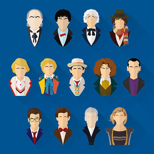 Dr Who - The Doctors