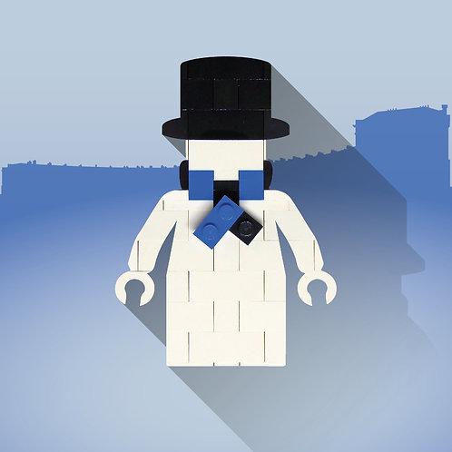 Lego Snowman (Bath)