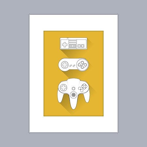 Nintendo Controllers (Mono)