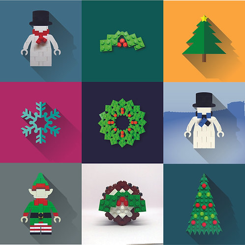Christmas Card Bundle (x10 Random Cards)