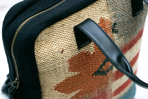 Stitched Kilim Boho Backpack