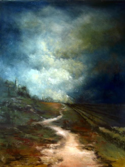 """""""After the Storm"""" Path 30""""x 40"""" Giclee"""