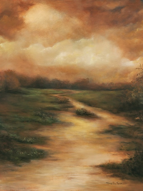 """October Path""     30""x40"" Giclee"