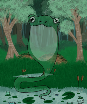 The local frog spirit