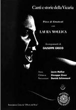 Canti e storie della Vicarìa spettacolo Laura Mollica Giuseppe Greco officina dell'arte