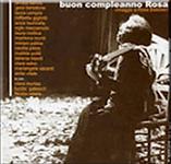 """copertina """"Buon compleanno Rosa"""" Laura Mollica. Compilation. Produzione Cielozero Teatro del sole. Rosa Balistreri."""