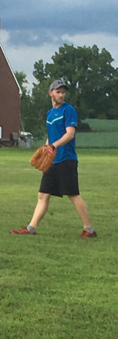 Damian moving to his third base position.