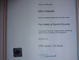 Fire Safety in Sports Grounds
