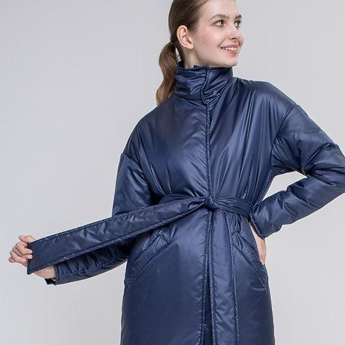 """Пальто """"Млечный путь"""" воротник-стойка (+цвета)"""