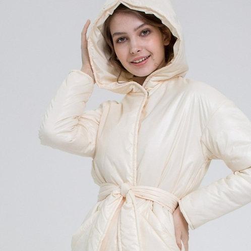 """Пальто """"Млечный путь"""" с капюшоном (+цвета)"""