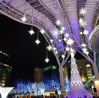 Hakata Railway Station, Fukuoka, Japan