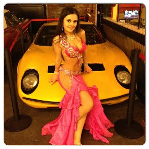 Professional belly dancer NY NJ