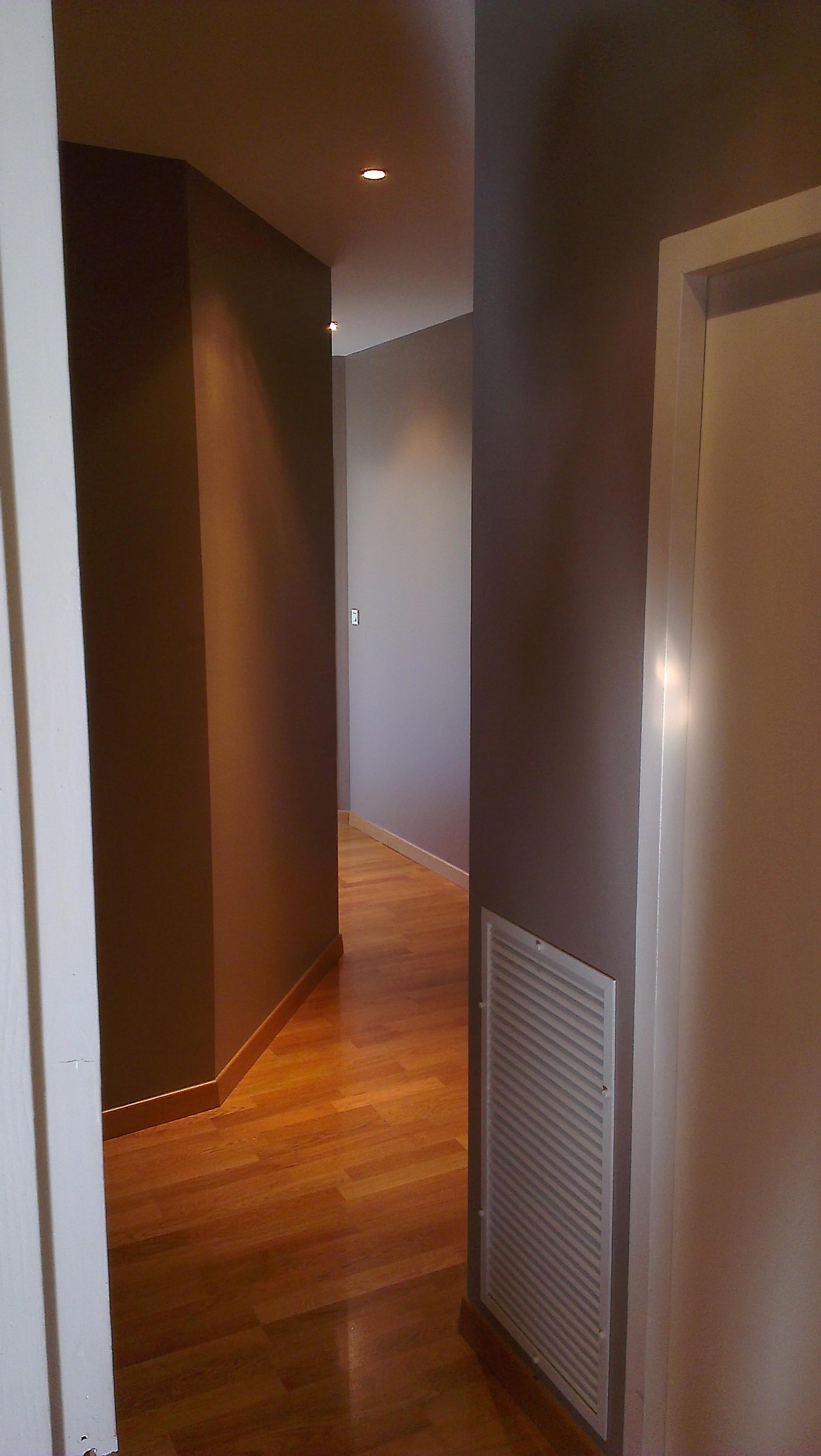 Peinture appartement couloir Lyon