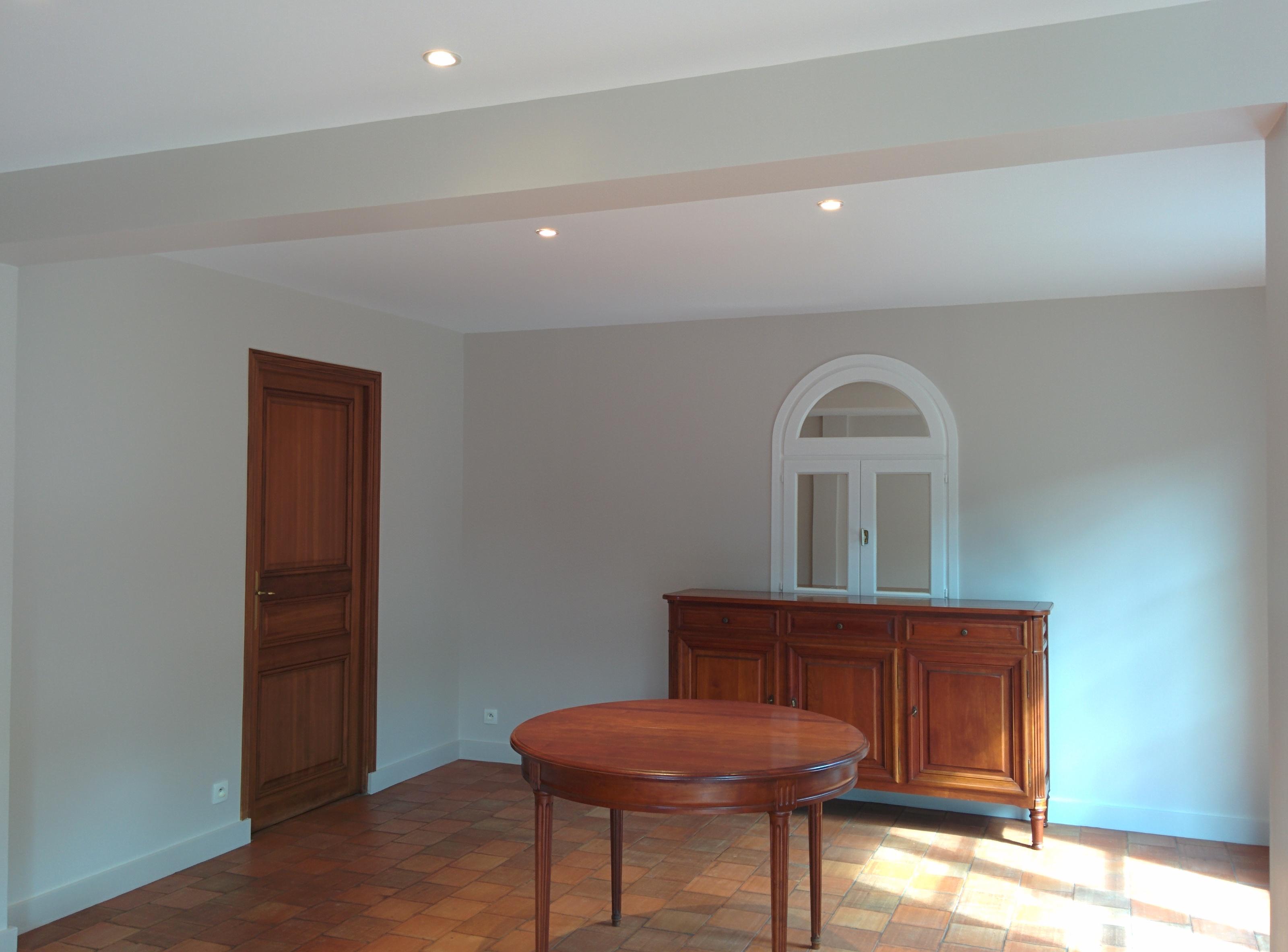 Rénovation et peinture séjour