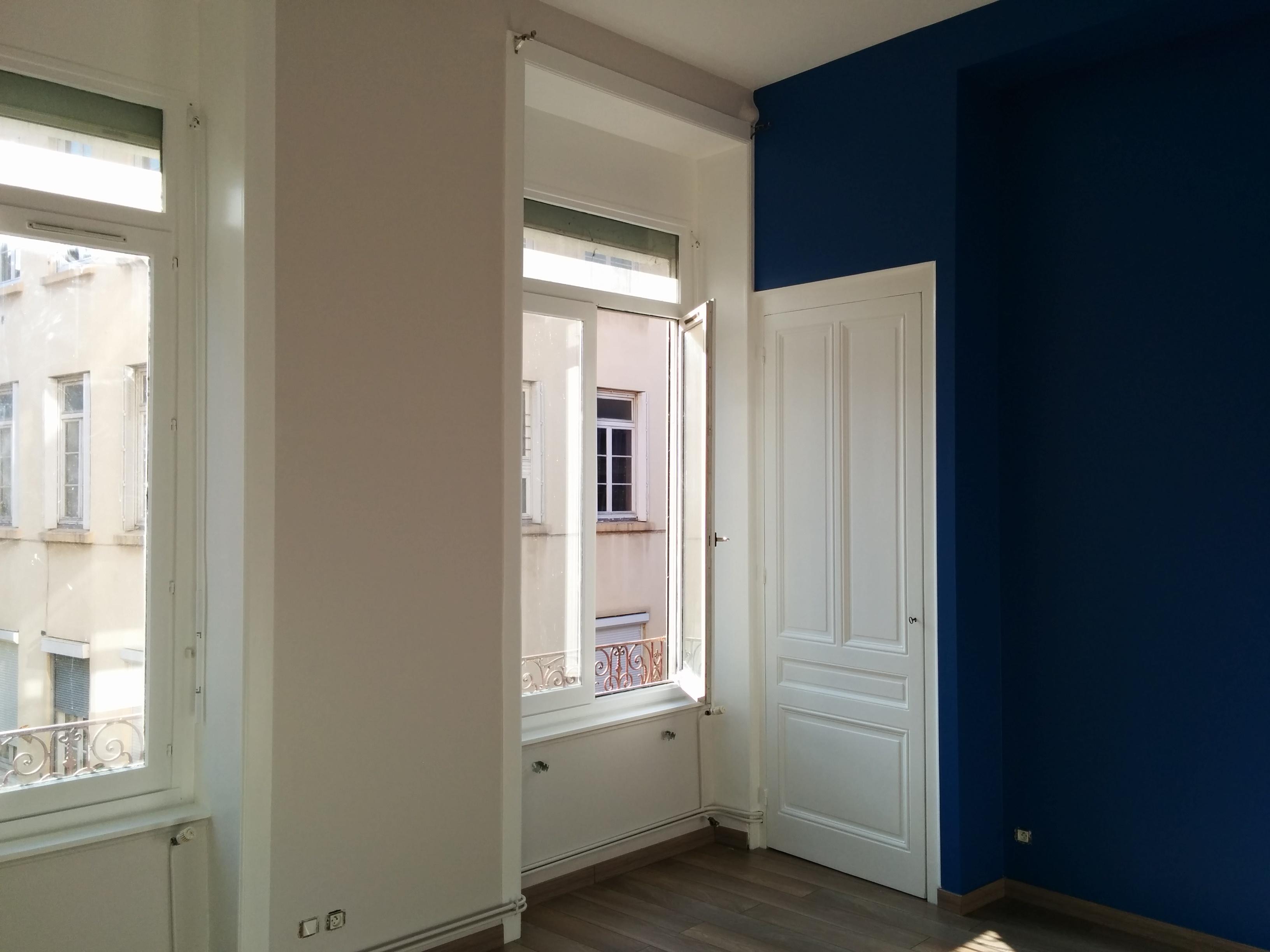 Rénovation peinture séjour Lyon