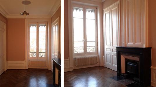 Travaux de peinture à Lyon : chambre