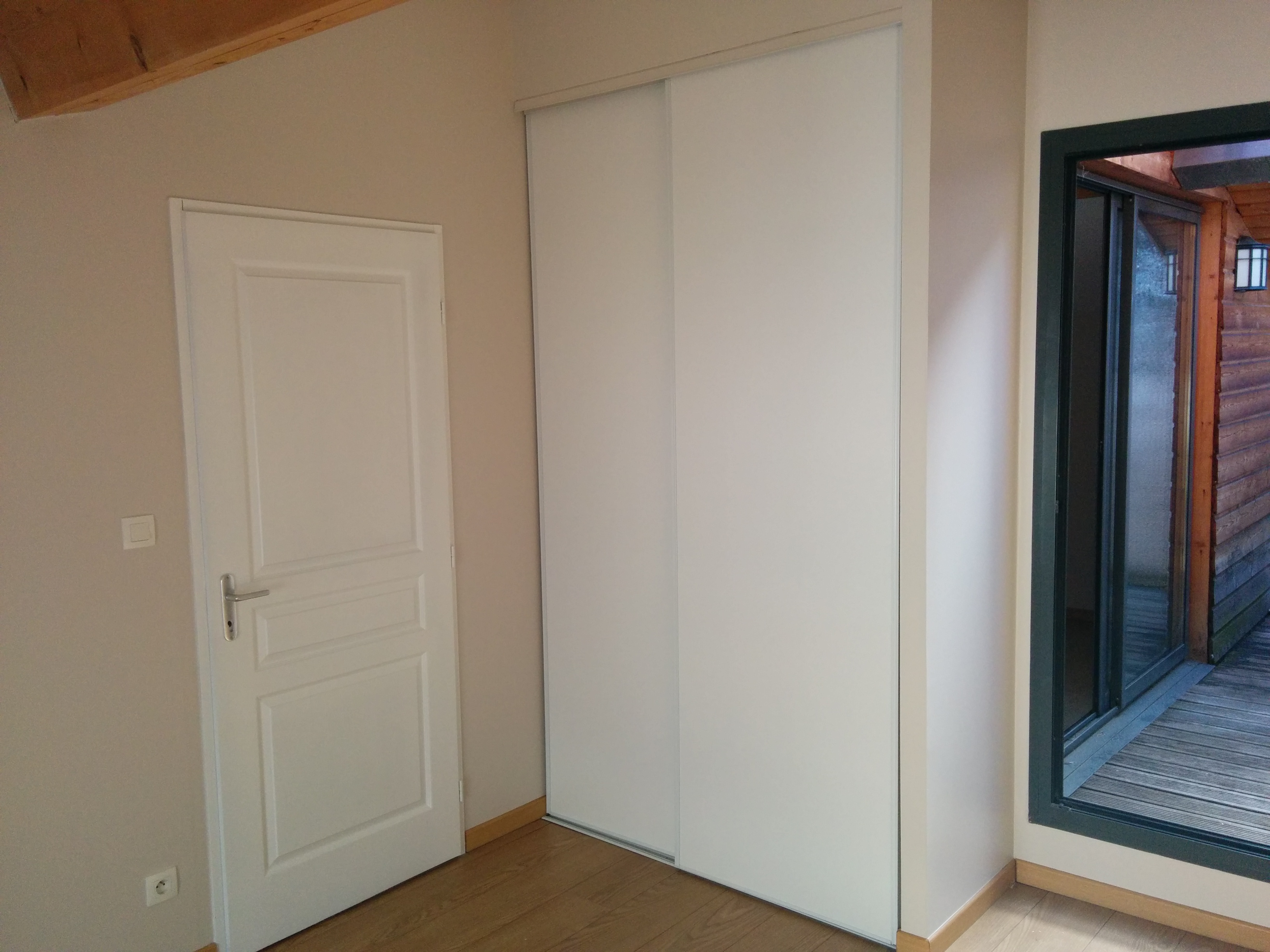 Peinture chambre - Loft à Lyon