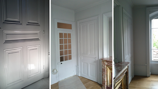 Peinture rénovation chambre Lyon