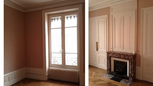 Peintre Lyon, peinture chambre