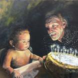 Grand-Papa et bébé