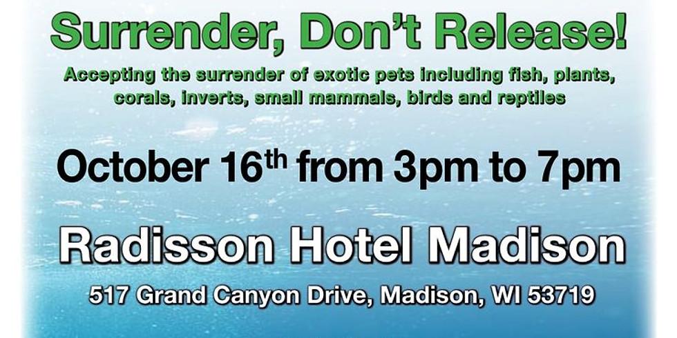 Habitattitude Exotic Pet Surrender Event - Madison