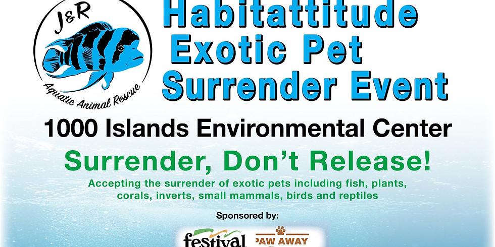 Habitattitude Exotic Pet Surrender Event - Fox Valley