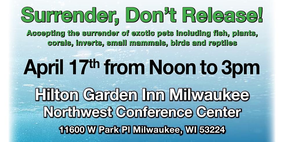 Habitattitude Exotic Pet Surrender Event - Milwaukee