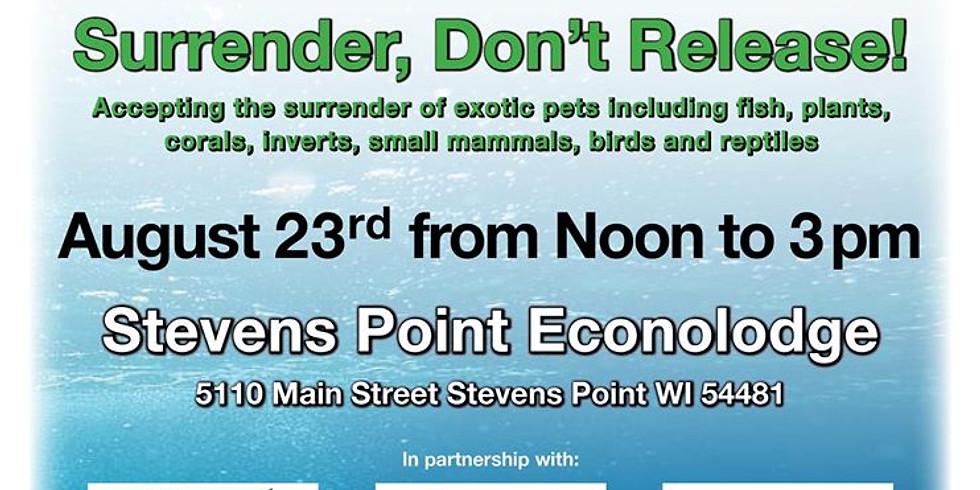 Habitattitude Exotic Pet Surrender Event - Stevens Point