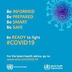 WORLD HEALTH ORGANIZATION COVID19 HEALTH ADVICE FOR PUBLIC when visiting a podiatrist chiropodist