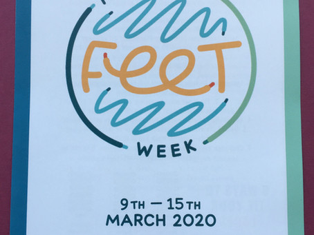 National Feet Week  9th to 15th March 2020