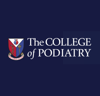 logo of college of podiatry