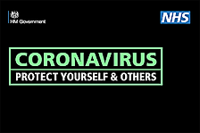 Deva Podiatry Chester image link  to government corona virus information
