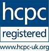 HCPC LOGO indicates a professional podia