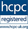 HCPC LOGO indicates a professional podia