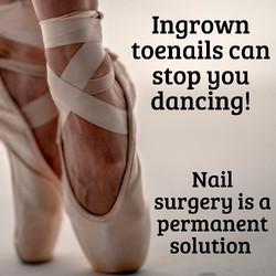 Ingrown toenail removal at Deva Podiatry