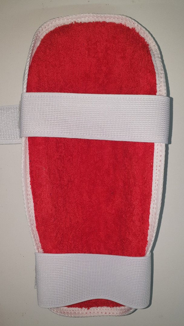 Remfry Arm Guard - Red - 38mm Top Strap