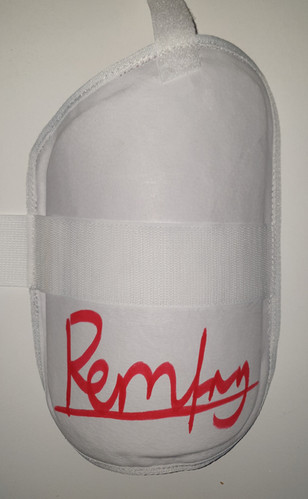 Remfry Inner Thigh Guard - Red