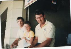 Luke Remfry, Steve Waugh/Geoff Marsh