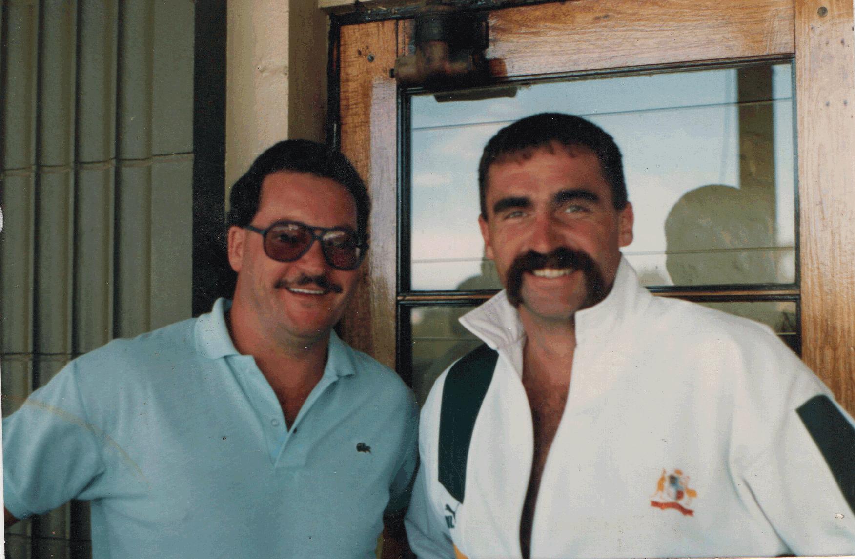 Steve Remfry & Merv Hughes