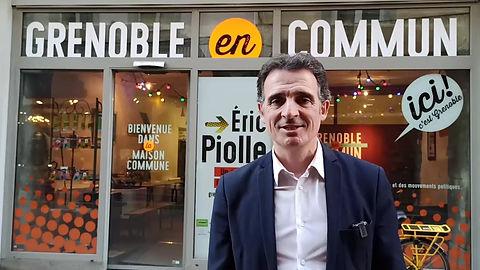 Vidéo de soutien d'Éric Piolle à la liste Tournon en Commun