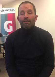 Vidéo de soutien de Benoît Hamon à la liste Tournon en Commun