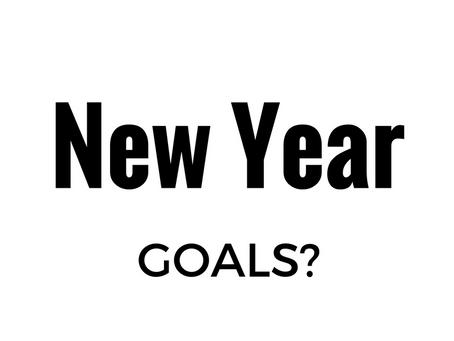 Setting Goals For 2017