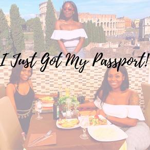 I Just Got My Passport!