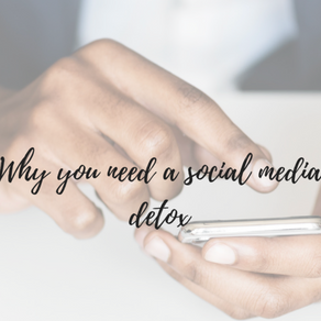 We All Need A Break: Social Media Detox