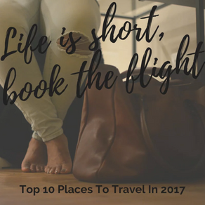 Life is short, book the flight