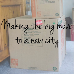 Making The Big Move To a New City