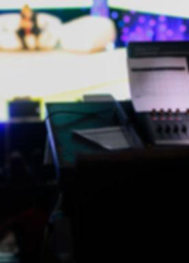 Soundboard during Talk Show