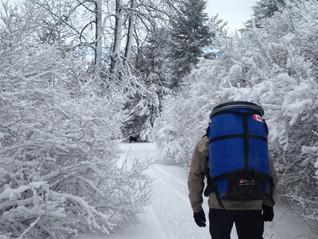 Training in the snow / Entrainement dans la neige