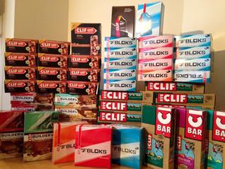 Clif Bar shipment! / Livraison Clif Bar!